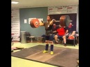 Киануш Ростами толчок 215 кг