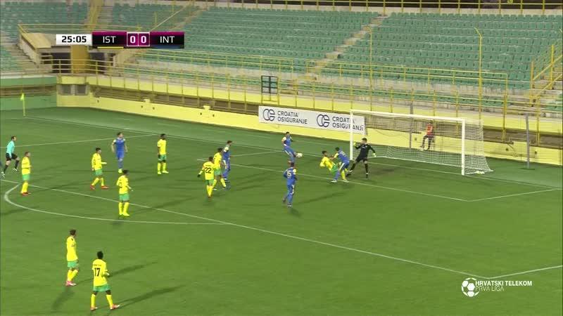 Istra 1961 - Inter-Zapresic 0-2, Sazetak (1. HNL 2018/19, 16. kolo), 30.11.2018. Full HD
