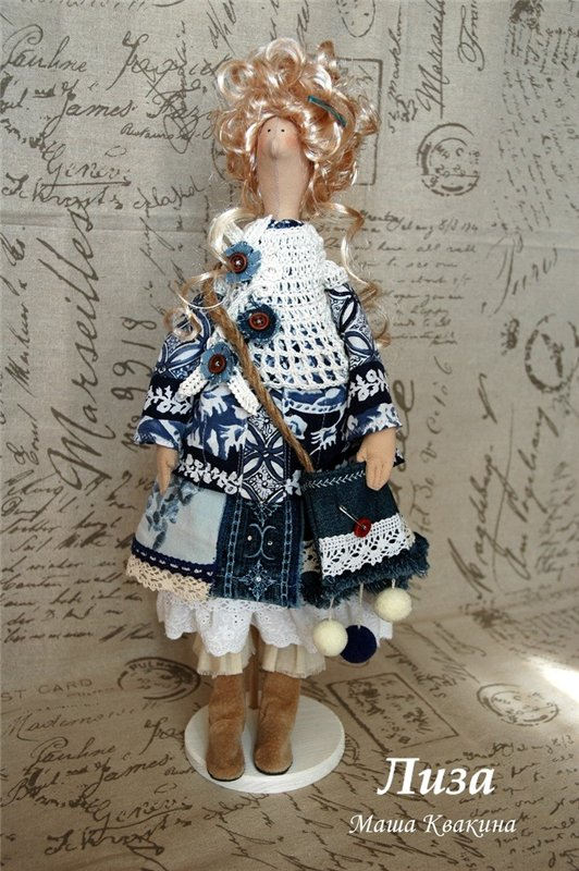 куклы бохо