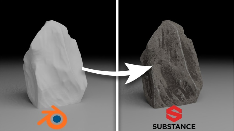How to Texture a Rock in Substance Painter pt 2 2