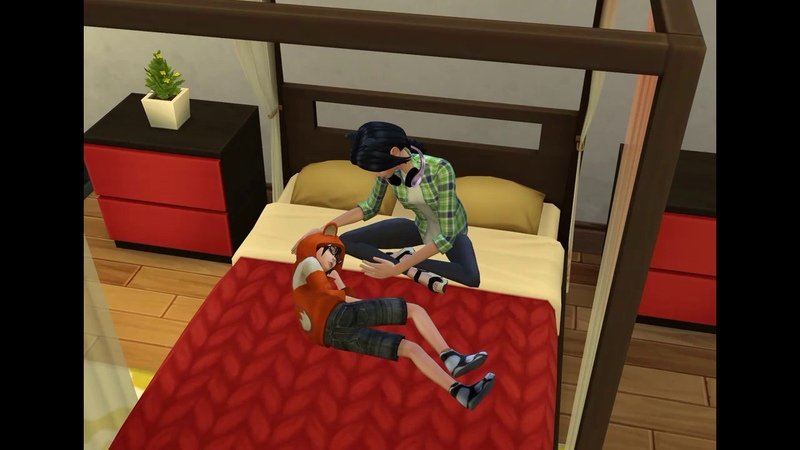 Sims 4 - big sister and little brother