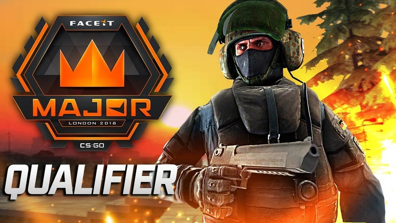 CS GO FACEIT Major 2018 Qualifier Fragmovie