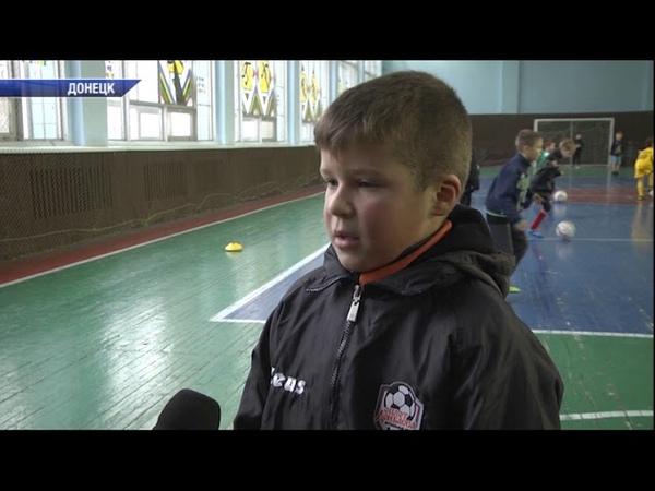 Тренировка по мини-футболу в спорткомплексе ''Кировец''