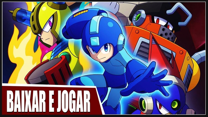 COMO JOGAR MEGAMAN 11 | 4 GB RAM GAME COMPLETO | LacosteGAMER