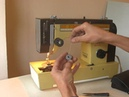 Sewing machine Veritas 8014 4140E намотка і заправка ниток