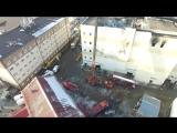 Сотрудники МЧС России обследовали четыре этажа торгового центра в Кемерове, где произошел пожар