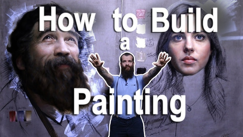 How to Build a Painting (A New Series). Cesar Santos vlog 043