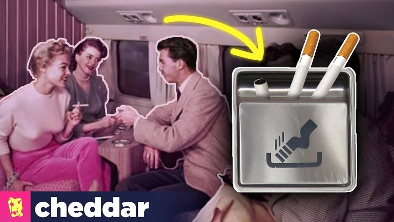Why Planes Still Have Ashtrays - Cheddar Explores