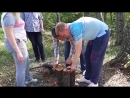 Создание финской свечки под шашлыки