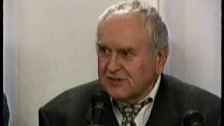 Сюжет телеканала культура об Анне Герман и о пресс конференции в Польском Культурном Центре 2003 год