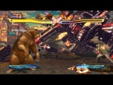 Street Fighter X tekken All characters cross-arts