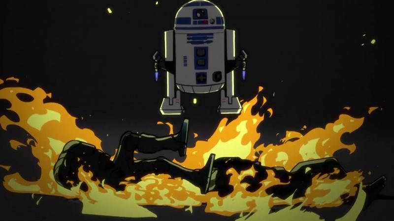 Звёздные Войны Моменты - Самый известный дроид в Галактике