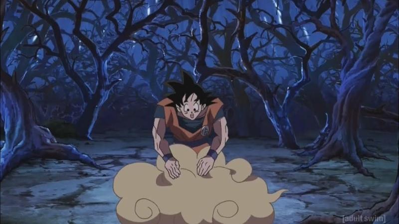 Goku (Sean Schemmel) singing Cha La Head Cha La English Dub | Episode 76