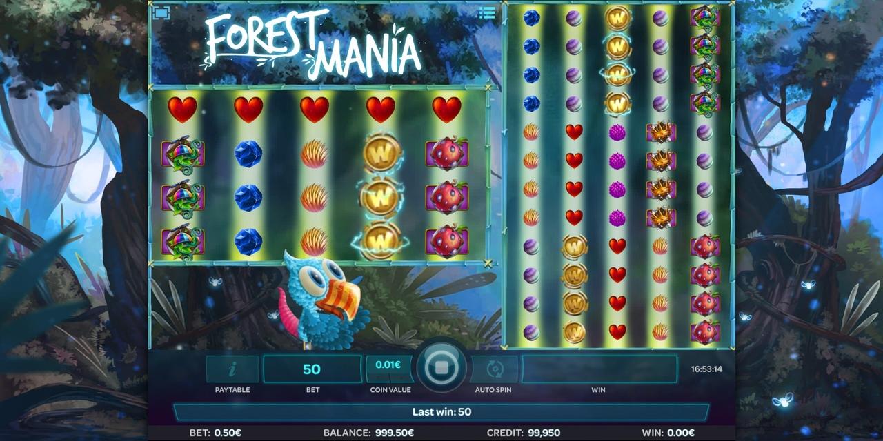 Обзор игрового автомата Forest Mania (лесной мании )