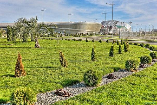 С началом ноября, друзья!   Как у вас с погодой? У нас солнечно!  #АдлерАрена #ОлимпийскийПарк #Сочи2014 #Sochi2014