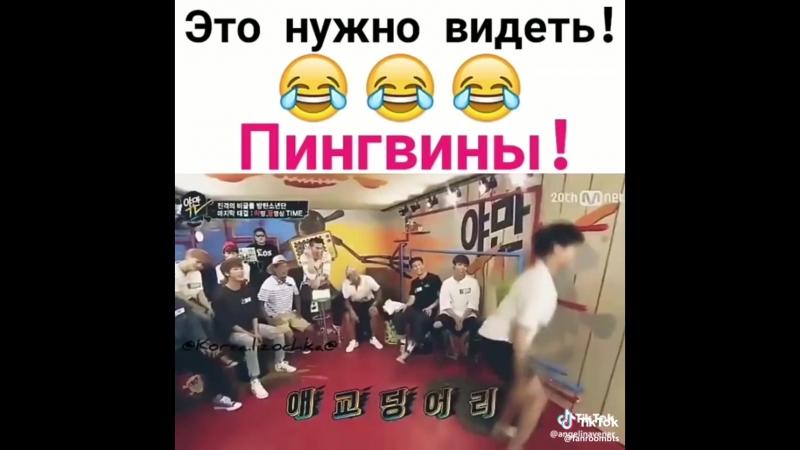 Пингвины бтс BTS