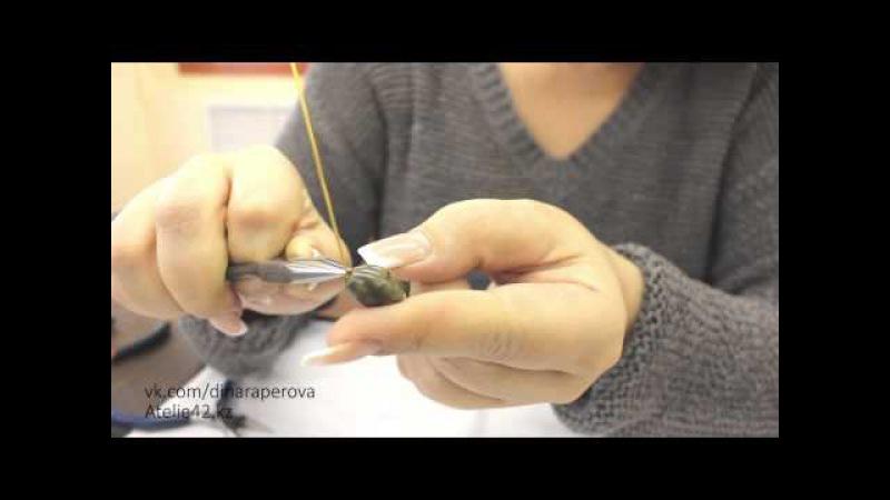 Видео мастер класс по бижутерии: Как закручивать пины.