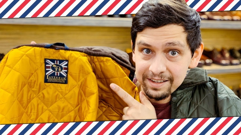 Стёганые куртки LAVENHAM: не хуже чем BARBOUR! крутые демисезонные куртки