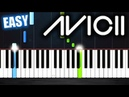 Avicii - Levels - EASY Piano Tutorial by PlutaX