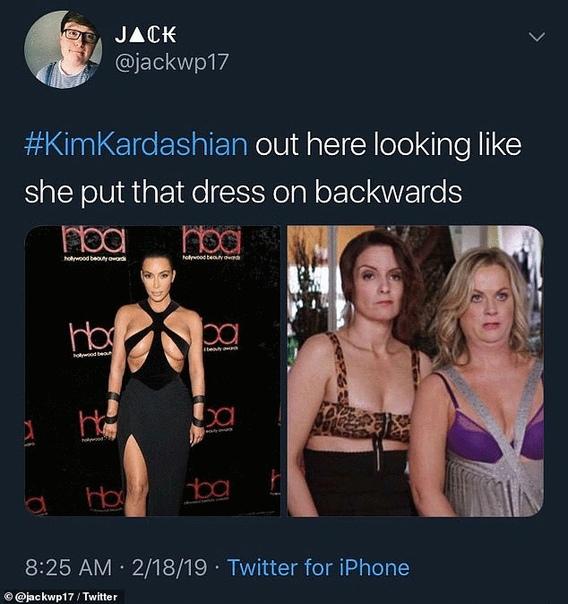 Ким Кардашьян похвалили за смелость после очередного «голого» выхода в свет Общественность все еще не может прийти в себя после очередного откровенного выхода Ким Кардашьян на светское