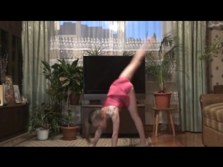 Моя гимнастика. Тик-так и колесо. My gymnastics. Tick-tock and the wheel.