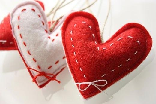 Как сделать сердечко на день святого валентина