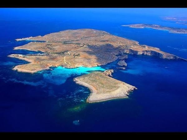 остров Комино, Легендарная Голубая Лагуна island of Comino's Legendary Blue Lagoon