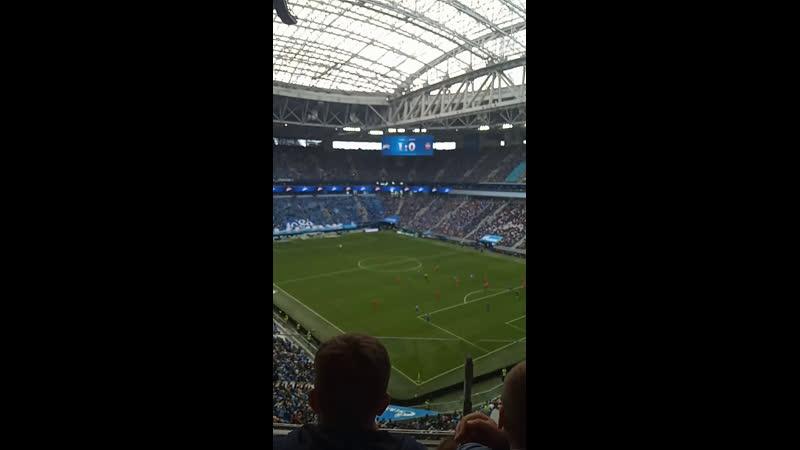 Saint Petersburg football match Зенит Енисей