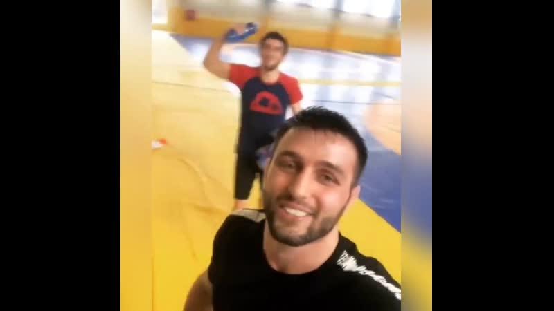 Сослан Рамонов и Заурбек Сидаков