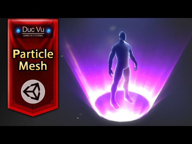 Game Effect Tutorial - Create Mesh For Particle - DucVu FX