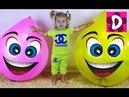 ✿ Шопкинс Огромные Шарики Сюрприз Холодное Cердце Микки Маус Хелло Китти Giant Balloons Surprise