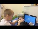 Артем Ананьев , 6 лет, 10 двузначных на 1 сек