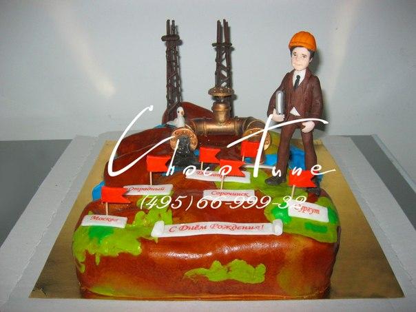 Торт нефтянику фото