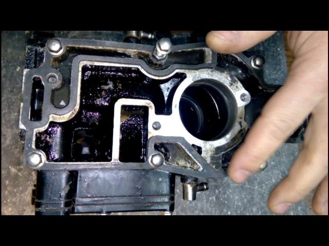 SeaPro T8, T9.9s, T9.8s замена прокладки дейдвуда и блока Автор: Гусар Игорь Добровольский