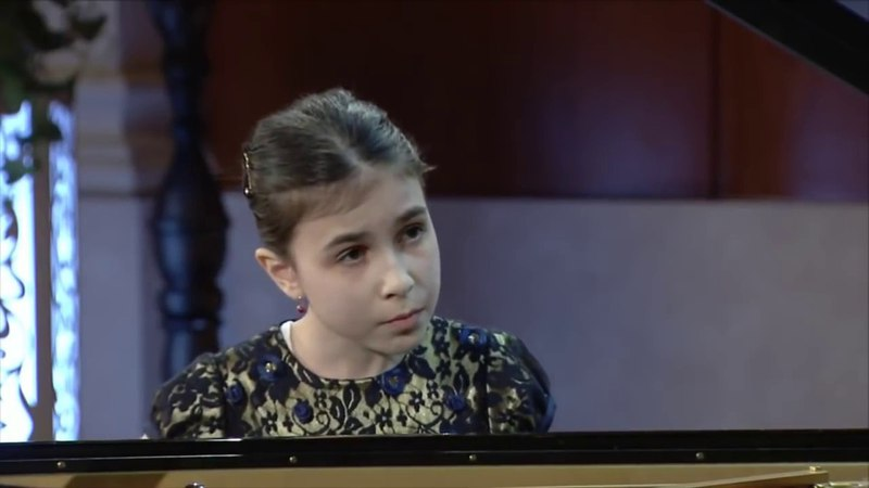 "Alexandra Dovgan (9 y.o.) 23 04 2017 ""Astana piano passion 2017"" Semifinal, junior group"