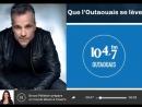 Bruno Pelletier en entrevue hier à Que l'Outaouais se lève où il nous parle de son implication avec Gatineau prend la scène et d