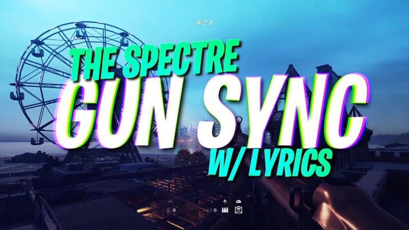 ♪ Alan Walker - The Spectre ♪ - Rainbow Six Siege Gun Sync
