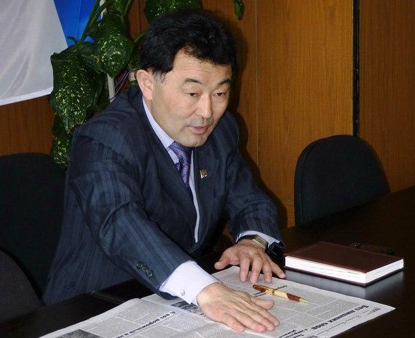 Валерий Пинтаев - глава администрации Байкальского городского поселения
