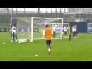 Callum Hudson-Odoi goal training / chelsea
