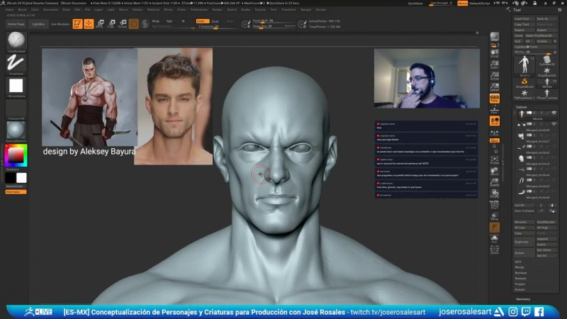 José Rosales - Conceptualización de Personajes y Criaturas para Producción - Epi