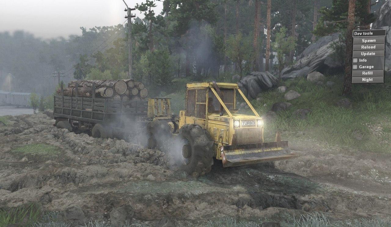 "LKT 81 Turbo ""Lakatoš"" для 8.11.15 для Spintires - Скриншот 2"