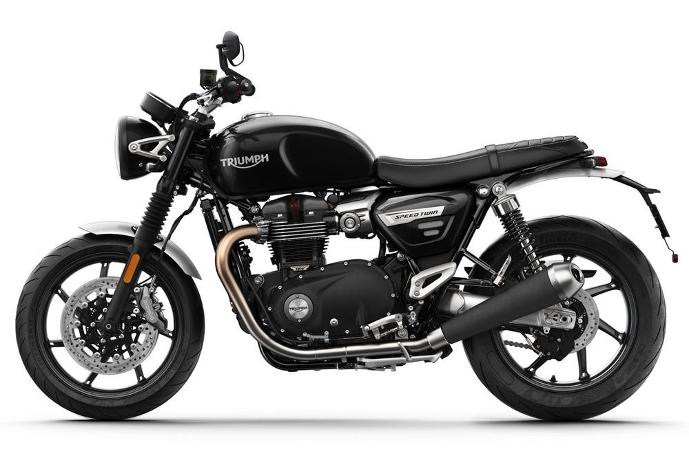 Новый мотоцикл Triumph Speed Twin 2019