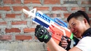 LNT Nerf War Swat tracing and revenge on the masked people who killed their friends