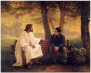 Однажды добрый человек беседовал с Богом и спросил его