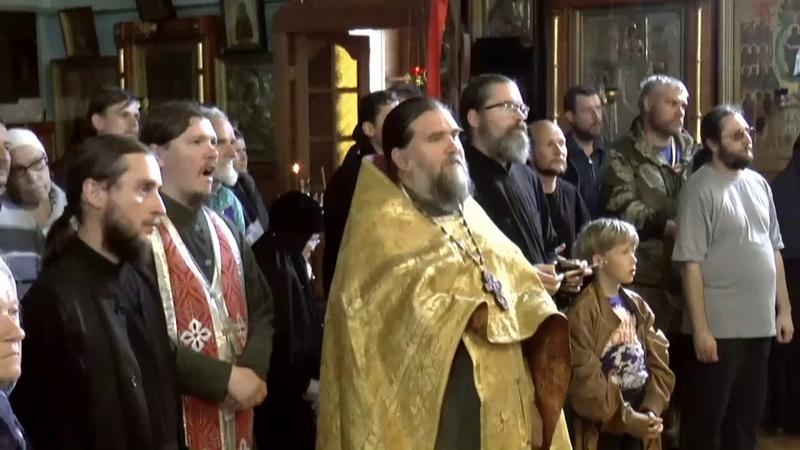 Крестный ход Могилев Псков 2017 часть 19 я Пожеревицы Дедовичи Выскодь