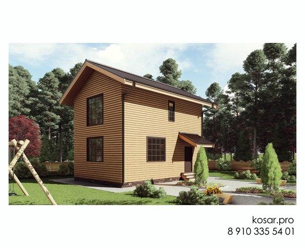 Двухэтажный дом 5005