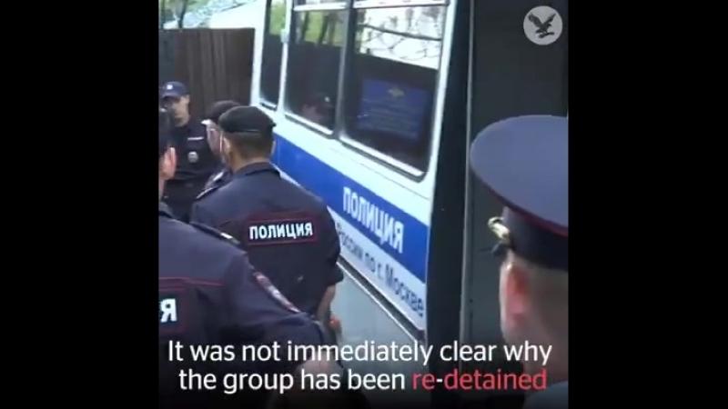 Russland versteht keinen Spaß mit Pussy Riot