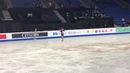 Alexandra Trusova SP practice run through Junior GP final Vancouver BC 12 6 18