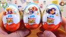 Киндер Сюрприз Девочки Супергерои, новая серия игрушек в яйцах Джой (DC Super Hero Girls)