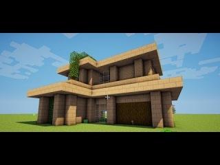 как построить красивый дом в майнкрафт!!! (sand house)